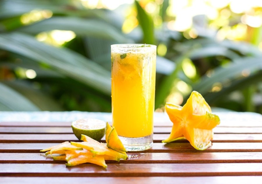 6 star fruit juice